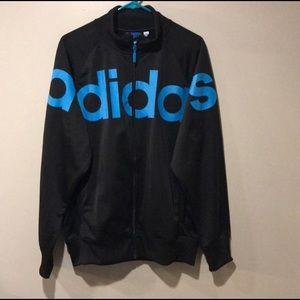 Adidas originals track jacket. SZ: L New with tags
